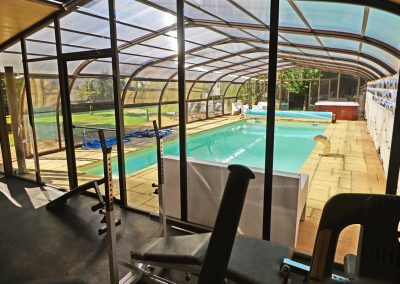 Gimnasio - sala de fitness