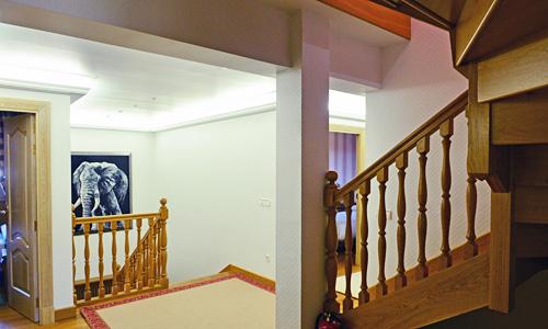 Hall y zonas de paso