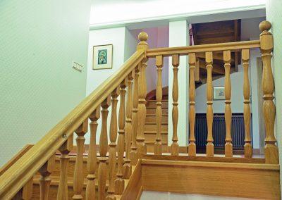 Hall y zonas de paso en la casa